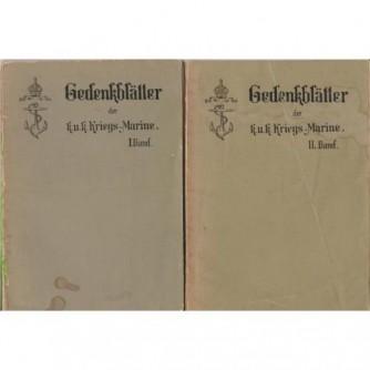 Gedenkblätter der k.u.k. Kriegs Marine Pola 1898. I-II